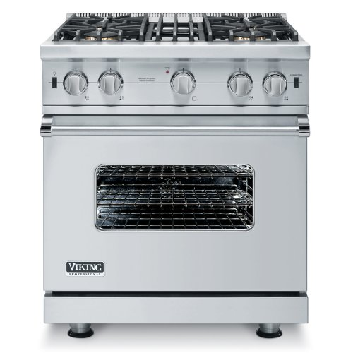Viking VGCC5304B 30 Inch Wide 3.7 Cu. Ft. Free Standing Natural Gas...