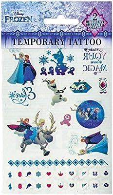 Disney Frozen FR16500 - Sábana Bajera para Tatuaje (14,5 x 21 cm ...