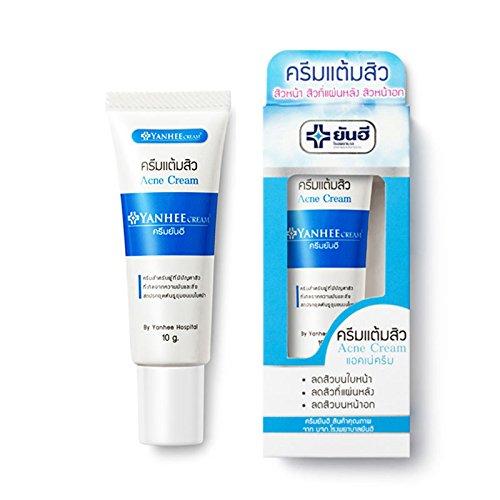 Amazon Com Thailand Yanhee Acne Scar Removal Cream Skin Repairing Moisturizing Acne Spots Acne Treatment Blackhead Removing Cream 10g Beauty