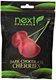 Next Organic Cherries Dark Chocolate Covered, 4-Ounce (Pack of 3)
