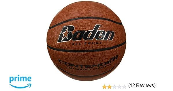 Baden Contender - Pelota de baloncesto, color marrón y beige ...