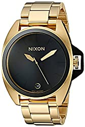 Nixon Men's a396510 Anthem Analog Display Swiss Quartz Gold Watch