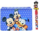 Disney Mickey Mouse and Friends Spiral Autograph Book - Blue and 1 Pen