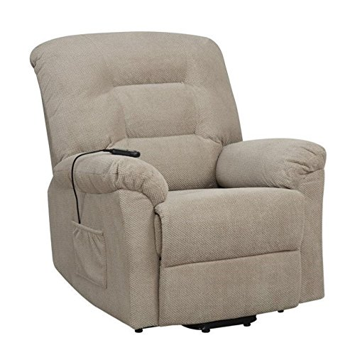 Coaster Home Furnishings 600399 Power Lift Recliner, Taupe - Coaster Furniture Recliner