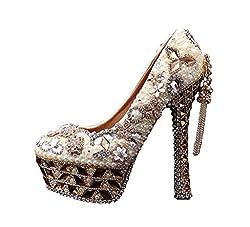 Women's Luxury Diamond Party High Heels