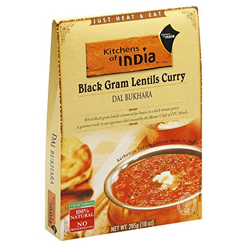 Kitchens Of India Dal Bukhara - Black Gram Lentils Curry -- 10 oz