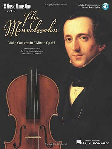 Mendelssohn - Violin Concerto in E Minor, Op. 64: Music Minus One (Music Minus One Violin)