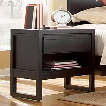 Progressive Furniture Athena Nightstand  24 x 17 x 24  Dark chocolate. Amazon com  CPAP Nightstand Finish  Country Pine  Health