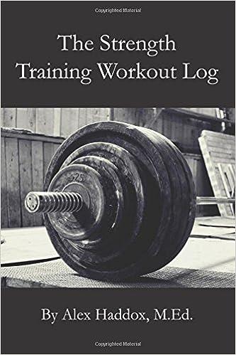 weight lifting workout log