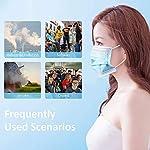 Eventronic-Gesichtsmasken-50St-Einweg-3-Lagen-Schutzmaske-Pollenschutz-staubdichter-atmungsaktiver-und-komfortabler-elastischer-Ohrenschtzer-Filter-Gesichtsschutz