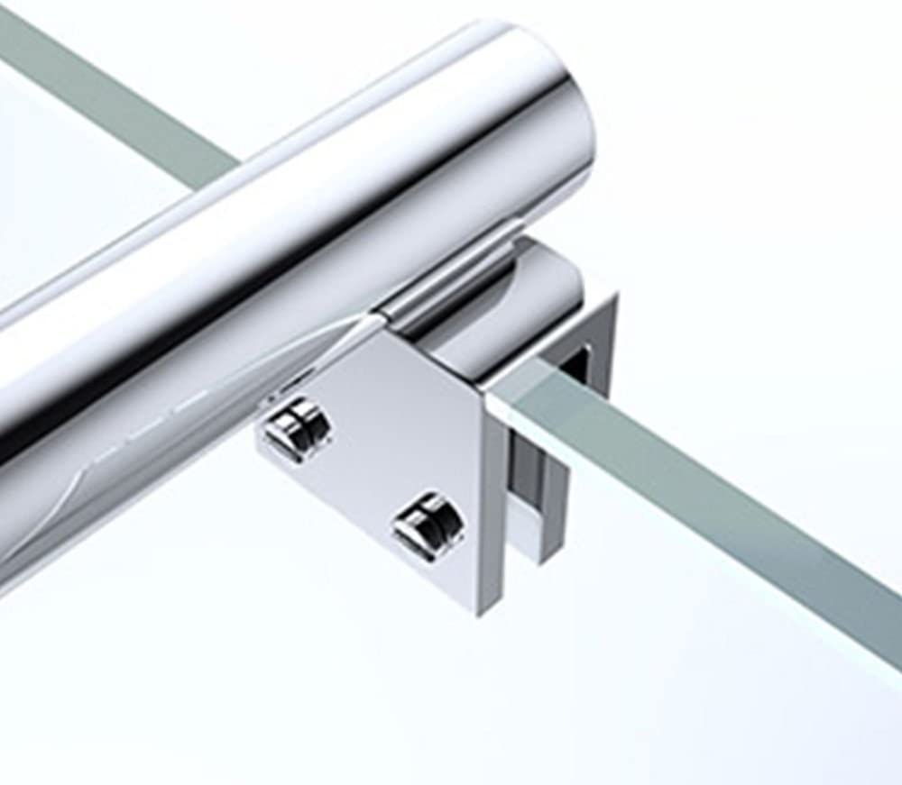 Paroi de douche /à litalienne transparent 100cm pare-douche Sogood Bremen2 100x200cm verre de s/écurit/é 10mm stabilisateur carr/é