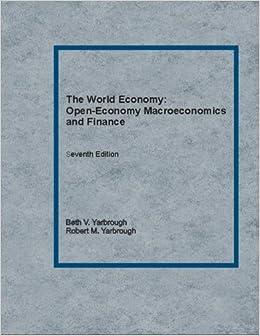 The World Economy: Open-Economy Macroeconomics and Finance