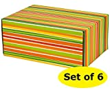 Gift Shipping Boxes (Pack of 6, Pattern 3)