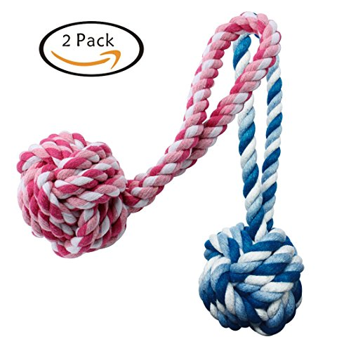 Dog Chew Ball Rope Toy