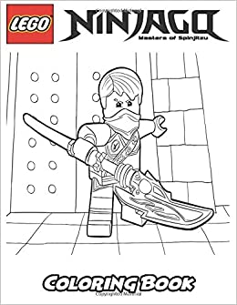 Amazon Com Lego Ninjago Coloring Book Coloring Book For Kids And