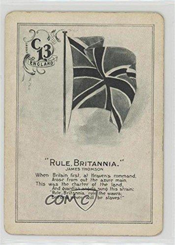 Britannia Games - Rule, Britannia (Trading Card) 1905 Cincinnati Game Co. Poems - [Base] #C13