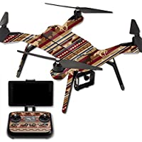 Skin For 3DR Solo Drone – Western Horses | MightySkins Protective, Durable, and Unique Vinyl Decal wrap cover | Easy To Apply, Remove, and Change Styles | Made in the USA