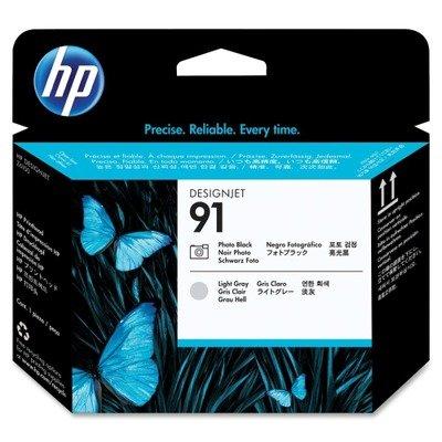 Printhead Blk - HEWC9463A HP BR DESIGNJET Z6100, 1-#91 PHT BLK/LT GRY PHD