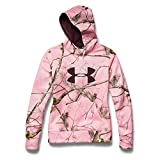 Under Armour Big Logo Hoody - Women's Realtree Ap Pink / Ivory / Ox Blood Small