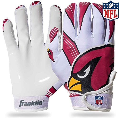 Franklin Sports NFL Arizona Cardinals Youth Football Receiver Gloves - Medium/Large ()