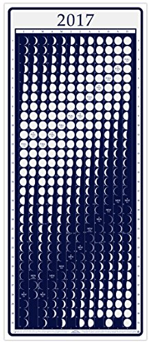 Moon Calendar 2017 Lunar Phases, MoonLight