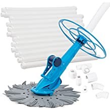 ARKSEN Automatic Swimming Pool Cleaner Vacuum Auto Inground & Above Hover with Hose Set