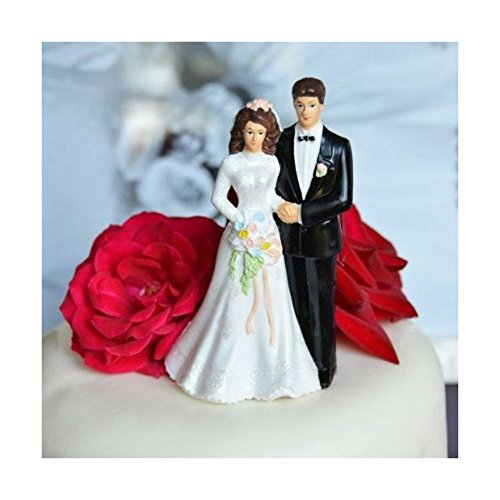 (Unbranded Traditional Vintage Bride and Groom Wedding Cake Topper Decoration)