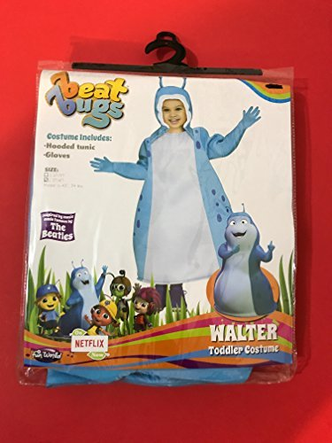 Beat Bugs Walter Toddler Costume (3T-4T) -