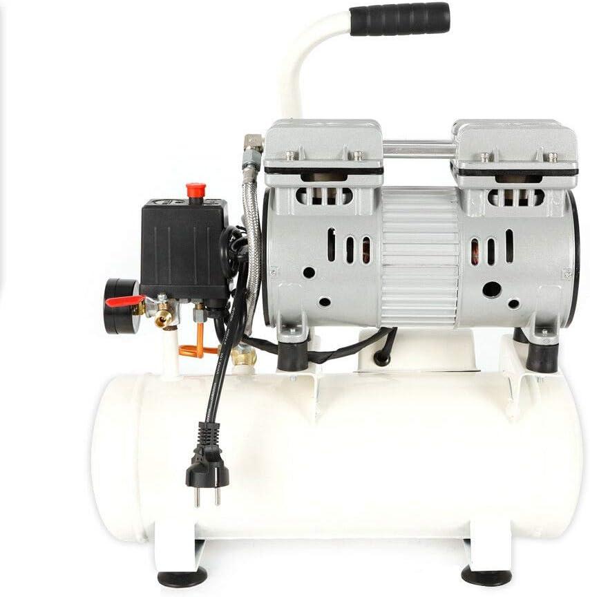 WUPYI2018 Compressore silenzioso ad aria compressa 12 l 680 W