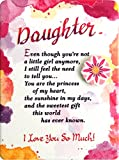 """Miniature Easel Print with Magnet: Daughter, Even Though…, 3.6"""" x 4.9"""""""