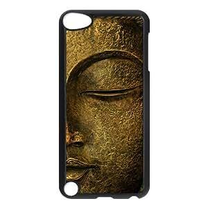 Design Case Cute Golden Buddha Mandala Pattern Print on Hard Plastic Back Case Cover iphone 4/4s touch 5 Case Perfect as Christmas gift(5) Kimberly Kurzendoerfer