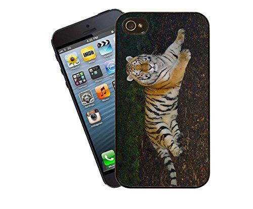 Tiger 002–Big Cat Coque pour iPhone-La-Coque pour Apple iPhone 4/4s-By Eclipse idées cadeaux