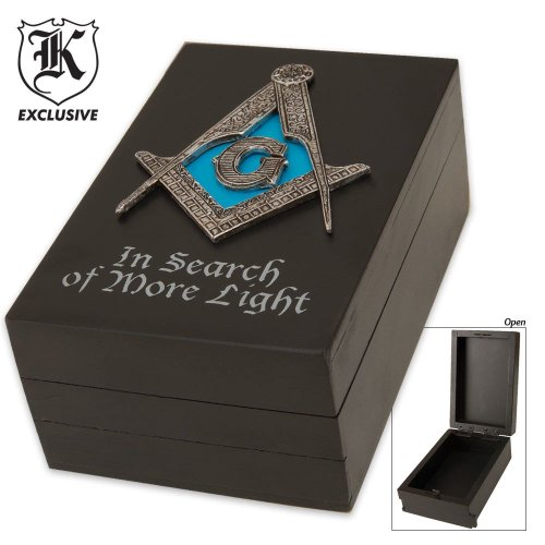 Masonic Heritage Trinket Box, Outdoor Stuffs