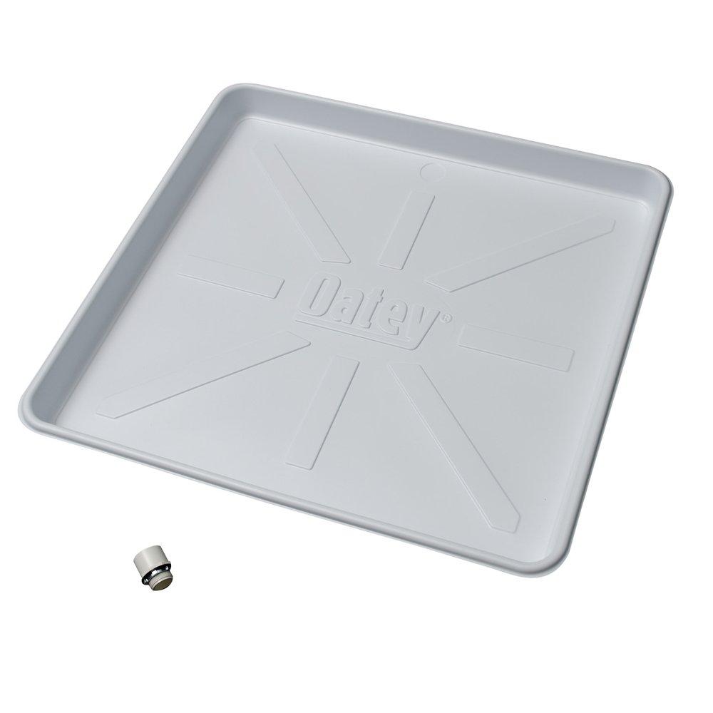 Oatey 34067 Plastic Pan, 32-Inch x 30-Inch, White by Oatey