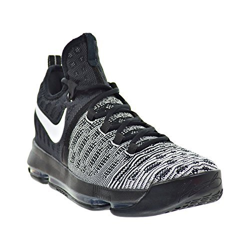 newest 645f9 4d86f Nike Zoom KD 9 Men s Shoes Black White 843392-010 (8.5 D(M) US) - Buy  Online in Oman.   Apparel Products in Oman - See Prices, Reviews and Free  Delivery in ...