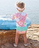 iEFiEL Little Baby Girls Long Sleeve Zip Sunsuit