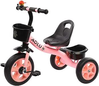 Triciclos Rojos/Rosados para Niñas, Trike para Niños De 2
