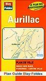 Plan de ville : Aurillac (avec un index)