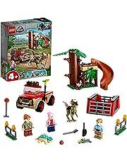 LEGO 76939 Jurassic World Stygimoloch dinosaurus ontsnapping Speelgoed Startset voor Meisjes van 4 met LEGO-figuren en een Boomhut
