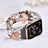 CAGOS Bracelet Beadeds Compatible with Apple