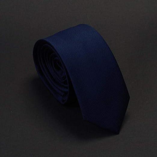 VGYUAS Corbata Corbatas Sólidas para El Novio 6 Cm Corbatas ...