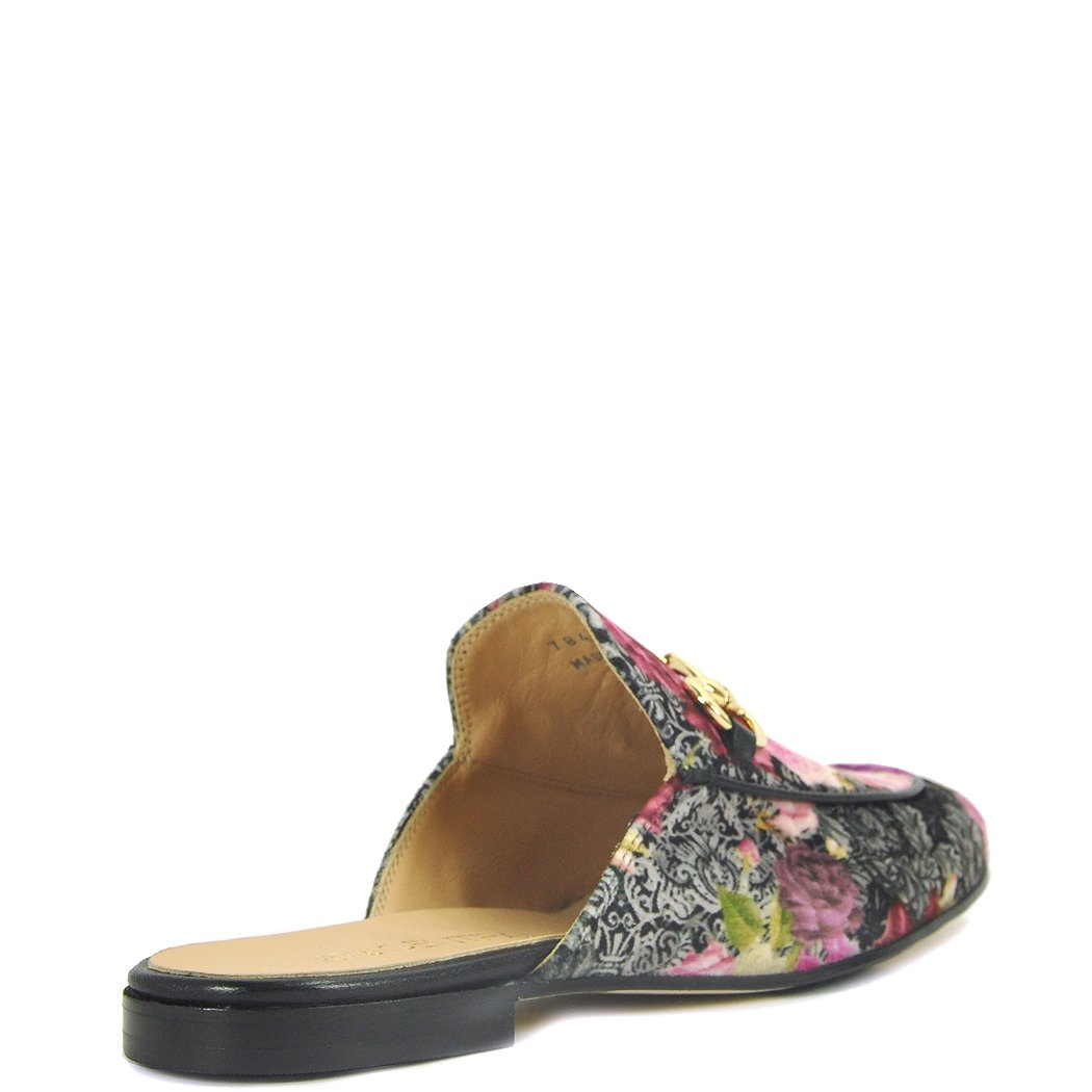 275 Central - 784 - Floral Printed Mule, Pink 40 Medium by 275 Central (Image #3)
