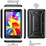 SUPCASE Samsung Galaxy Tab 4 8.0 Case - Unicorn Beetle PRO Series Full-body Hybrid Protective Case with Screen Protector (Black/Black), Dual Layer Design/Impact Resistant Bumper Prime