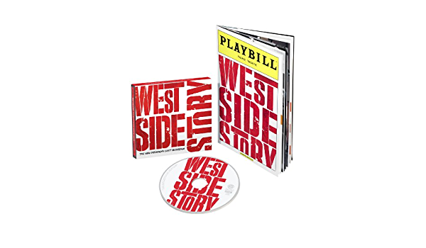 West Side Story The New Broadway Cast Recording West Side Story Exclusive Limited Edition With Playbill Music
