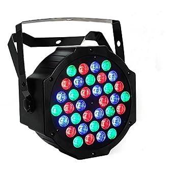 Maxmer Le Luci Della Discoteca 54W 54 LED 12 Rosso 18 Verde 18 Azzurro 6 Bianco Mini Luce Luminosa Eccellente Rotante
