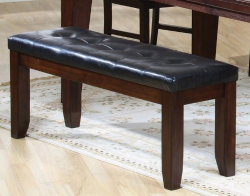 Dark Brown Bench by Coaster Furniture by Coaster Home Furnishings