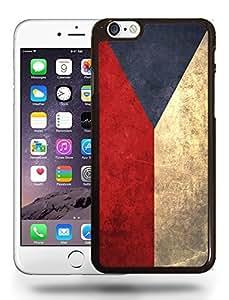 Czech Republic National Vintage Flag Phone Case Cover Designs for iPhone 6 Plus