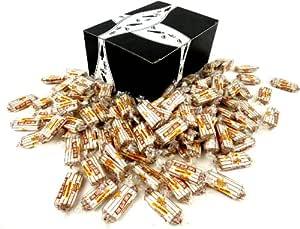 Atkinson's Sugar Free Peanut Butter Bars, 2 lb Bag in a BlackTie Box