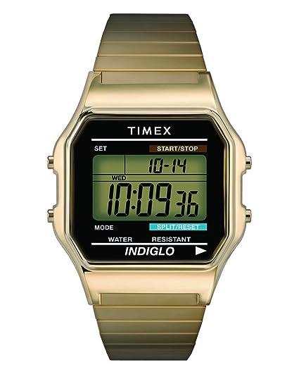 Timex Youth & Kids T78677PF - Reloj de cuarzo unisex, correa de acero inoxidable,