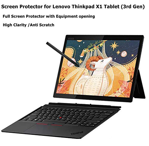 Starfilm Screen Protector for Lenovo Thinkpad X1 Tablet (3rd Gen) 13 Inch Full Screen Protector with Precise Cutout.Anti-Glare 2pack (Thinkpad X1 Tablet 3rd